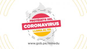 Disposiciones del Minedu ante el Coronavirus (COVID-19)
